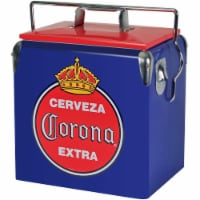 Koolatron 14 Quart Retro Corona Portable Ice Chest Hard Cooler w/ Bottle Opener - 1 Unit