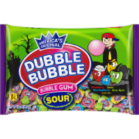Dubble Bubble Sour Bubble Gum - 14 oz
