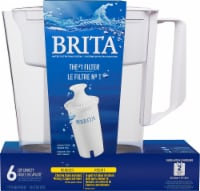 Brita Soho Water Filter and Pitcher - White