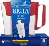 Brita SOHO Water Filter Pitcher - Red
