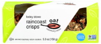 Lesley Stowe's Rosemary Raisin Raincoast Oat Crisps