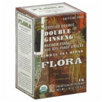 Flora Organic Double Ginseng Herbal Tea Bags