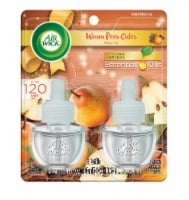 Air Wick Warm Pear Cider Scented Oil Refills