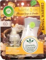 Air Wick Brown Sugar & Vanilla Scented Oil Starter Kit