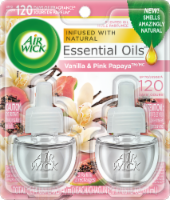 Air Wick Vanilla & Pink Papaya Essential Oils Refills