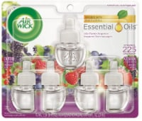 Air Wick Wild Berry Fragrance Scented Oil Refills - 5 ct