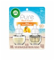 Air Wick Pure Beach Escapes Maui Sweet Mango Scented Oil Refills