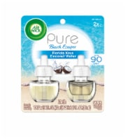 Air Wick Pure Beach Escapes Florida Keys Coconut Water Scented Oil Refills