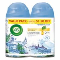 Air Wick Freshmatic Fresh Waters Fragrance Refills 2 Count - 11.7 oz
