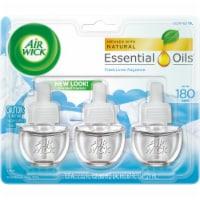 Air Wick Snuggle Fresh Linen Scented Oil Refills - 3 ct / 0.67 fl oz