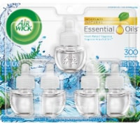 Air Wick Fresh Waters Essential Oils Refills 5 Count