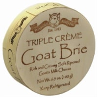 Woolwich Dairy Inc Triple Creme Goat Brie