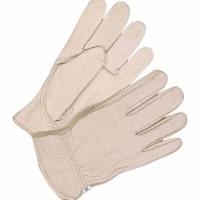 Bdg Leather Gloves,Glove Sizes L,PR  20-1-376-8 - 1