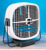 Seabreeze COOL SWEEP 12-1/2 in. H x 10 in. Dia. 2 speed Oscillating Portable Fan - Case Of: - Count of: 1