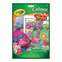 Crayola Colour & Sticker Book Trolls
