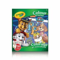 Crayola Colour & Sticker Book - Paw Patrol - 1
