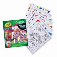 Crayola Color & Sticker Book - Trolls World Tour - 1