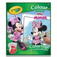 Crayola 30373940 Minnie Mouse Color & Sticker Book - 1