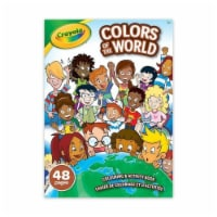 Crayola Colors of the World Coloring & Activity Book - 48 Pages - 1