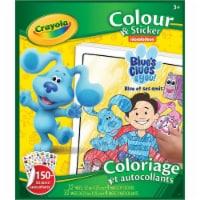 Crayola - Colour & Sticker Book Blue's Clues & you! - 1