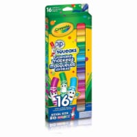 Crayola 16 Pip-Squeaks Broad Line Washable Markers