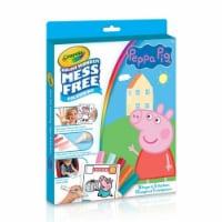 Crayola 30363275 Color Wonder Kit Peppa Pig - 1