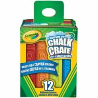 Crayola 12-Count Sidewalk Chalk - 1