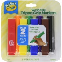 Crayola My First Washable Tripod Markers - 1