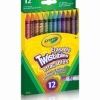 Crayola 30365440 12 Erasable Twistables Coloured Pencils