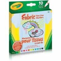 Crayola Fabric Fine Line Markers - 1