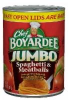Chef Boyardee Spaghetti & Jumbo Meatballs