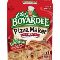 Chef Boyardee Pizza Maker Pepperoni Pizza Kit