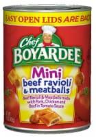 Chef Boyardee Mini Beef Ravioli & Meatballs
