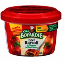 Chef Boyardee Beefaroni Pasta in Tomato & Meat Sauce Microwavable Cup