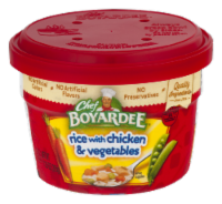Chef Boyardee Rice with Chicken & Vegetable Microwavable Bowl - 7.25 oz