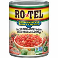Rotel Mexican Style Lime & Cilantro Diced Tomatoes