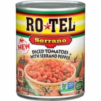 Rotel Diced Tomatoes with Serrano Peppers