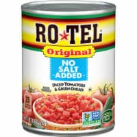 Rotel No Salt Added Diced Tomatoes & Green Chilies