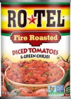 Rotel Fire Roasted Diced Tomatoes & Green Chilies
