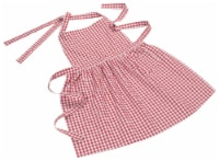 Now Designs Classic Adjustable Straps Red Gingham Kitchen Apron - 1 ct