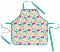 Jubilee Kids Apron for Girls Boys Unisex Aged 2-7 Years 100% Cotton Dandy Dinos - 1 ct