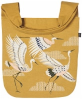 Danica Studio Cotton To and Fro Tote Bag with Extra Wide Handles Flight Of Fancy - 1 each