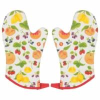 Now Designs Fruit Salad Chef Oven Mitt, 13 , Set of 2 - Set of 2