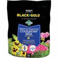 Black Gold Moisture Supreme 8 Qt. 6 Lb. Container Potting Soil 1413000.Q08P