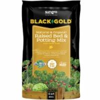 Black Gold 1.5 Cu. Ft. 23 Lb. Natural & Organic Raised Bed Potting Soil