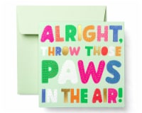 American Greetings Birthday Card for Kids (Paws) - 1 ct