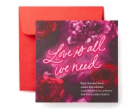 American Greetings Valentine's Day Card (Love and Food)