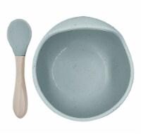 Siliscoop Bowl & Spoon Seafoam - 1