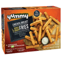 Yummy Whole Grain Chicken Breast Fries
