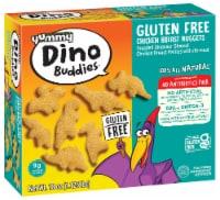 Yummy Gluten Free Dino Buddies Dinosaur Nuggets - 18 oz